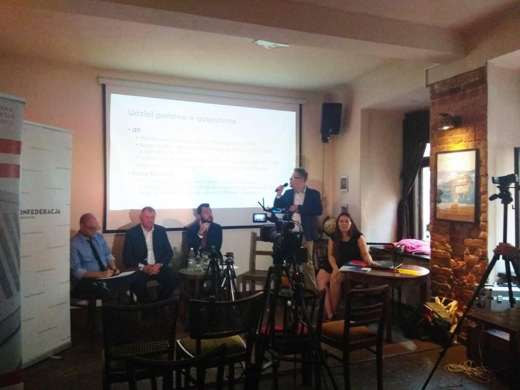 Nagranie debaty o wolnościach gospodarczych
