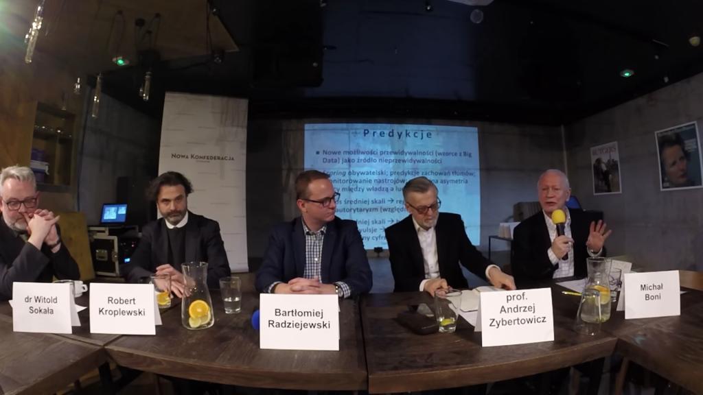 """Nagranie z Salonu Dyskusyjnego NK """"Cyfryzacja – główny obszar rywalizacji geopolitycznej?"""""""