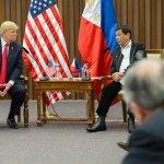 Duterte mięknie w relacjach z USA