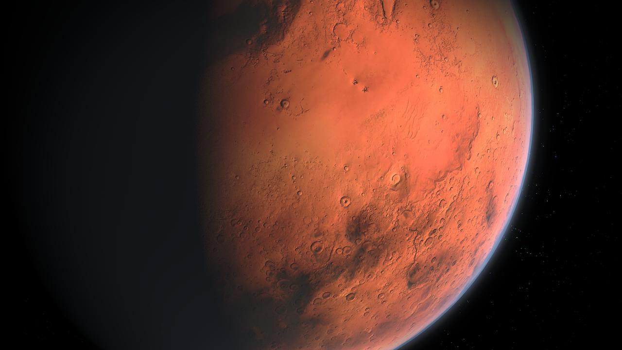 Arabska misja na Marsa