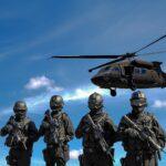 Walka o rynek broni z rywalizacją mocarstw w tle