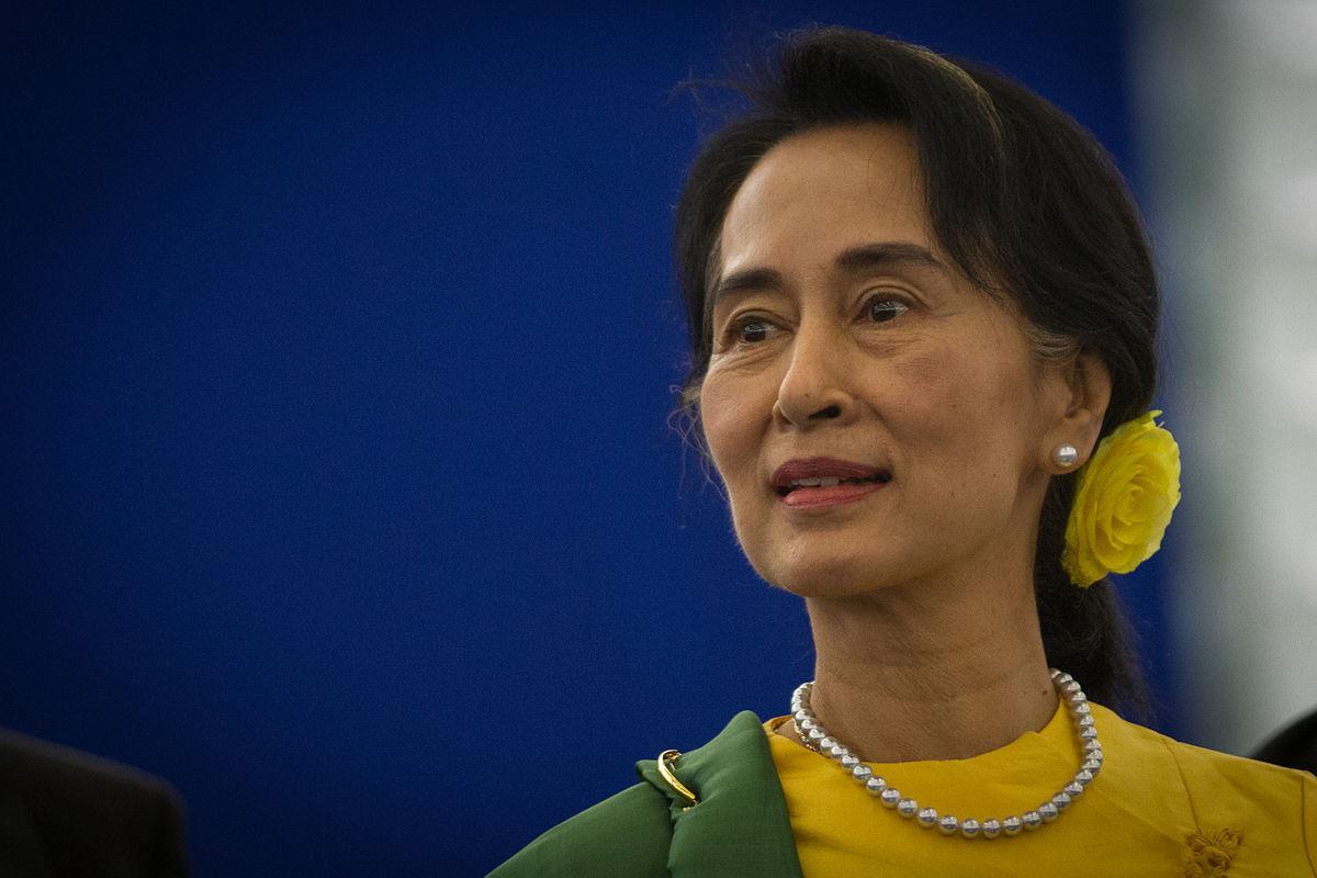 Wybory w Birmie Aung San Suu Kyi